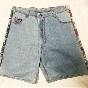 👹SOLD👹 VTG Levis Silver Tab Denim America Shorts